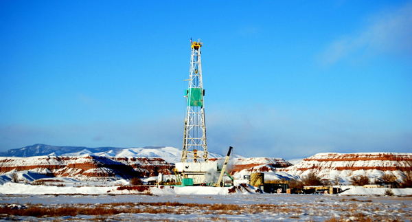 Winter Drilling Rig