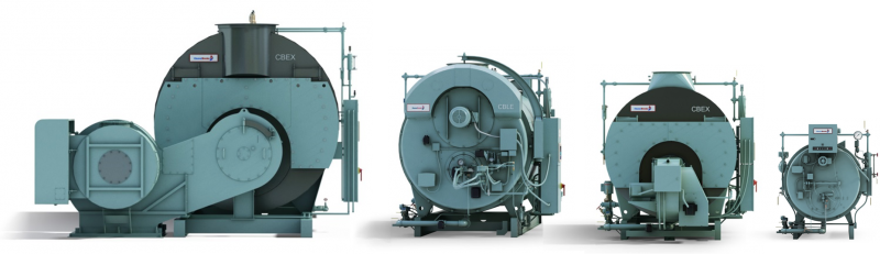 4 different types of firetube boilers