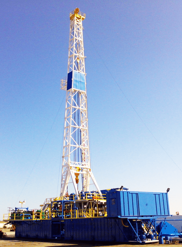 Natural Gas Oil Rig